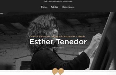 Singulart Exposición Virtual Esther Tenedor