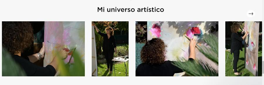 Singulart universo artistico Esther Tenedor
