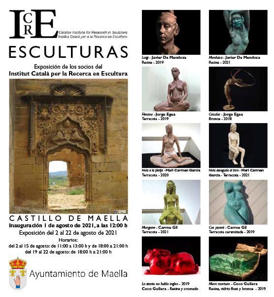 Exposición de Esculturas Castillo de Maella